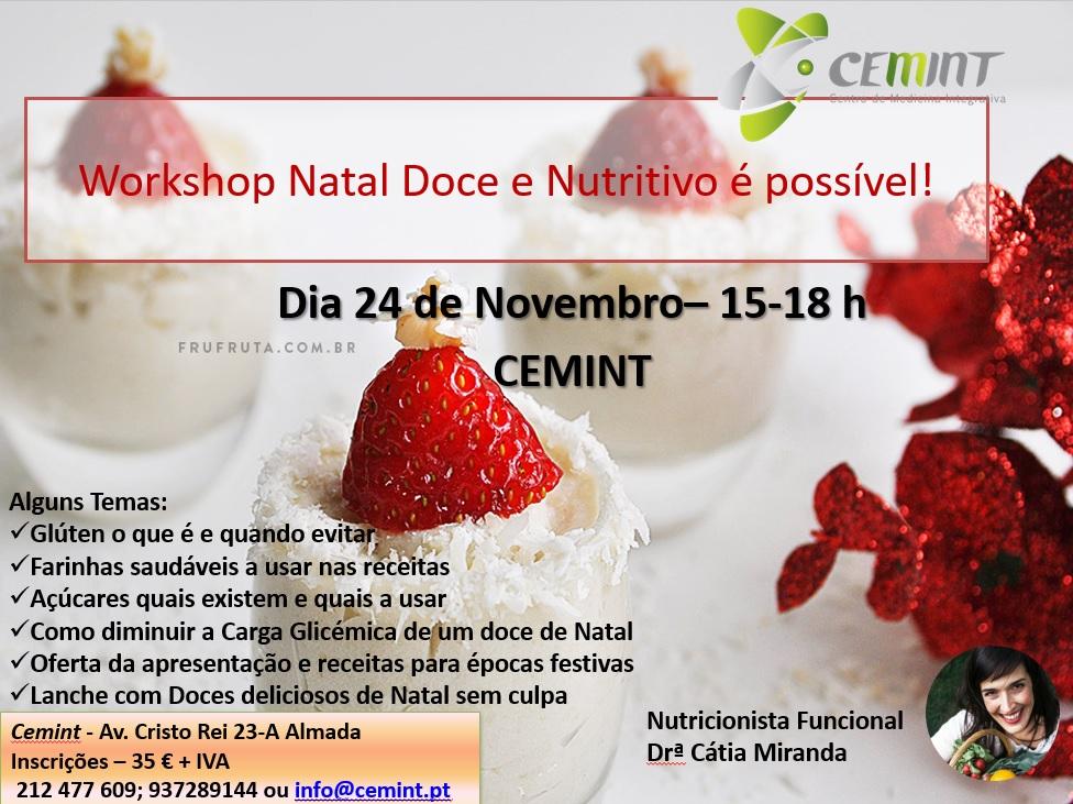 Natal Doce e Nutritivo é possível