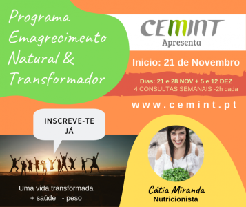 Programa Emagrecimento Natural & Transformador NOV 2019